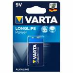 Батарейка Varta Longlife Power 9V Крона 6LR61 1BL