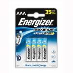 Батарейки Energizer Maximum LR03 AAA 4BL