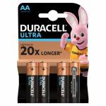 Батарейка Duracell Ultra Power AA 4BL